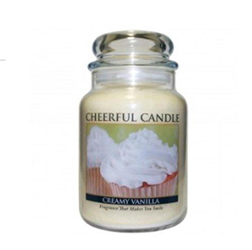 24 Oz Candle - A Cheerful Giver A Creamy Vanilla 24 oz. Jar Candle