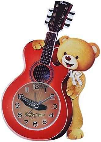mailang Dibujos Animados Oso Guitarra Pequeño Despertador Sala De ...