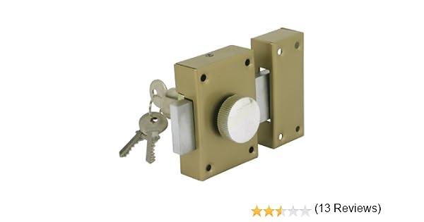 Cogex 80804 - Cerradura de seguridad (con pomo interior): Amazon.es: Bricolaje y herramientas