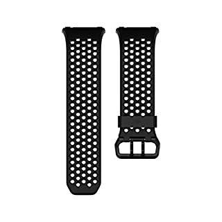 Fitbit Ionic Accessory Sport Band, Black/Gray, Large (B074SZK52H) | Amazon Products