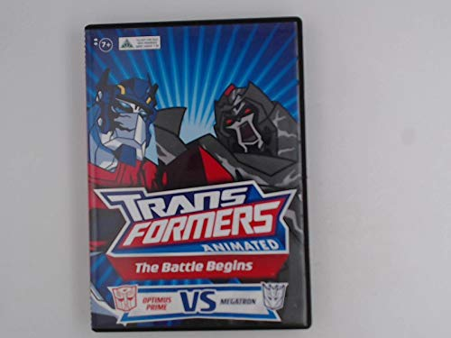 d ~ The Battle Begins: Optimus Prime VS Megatron DVD ()