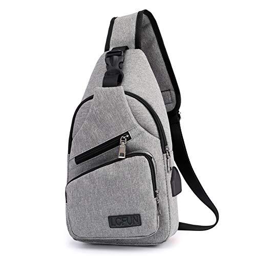 Canvas Sling Bag Shoulder chest cross body
