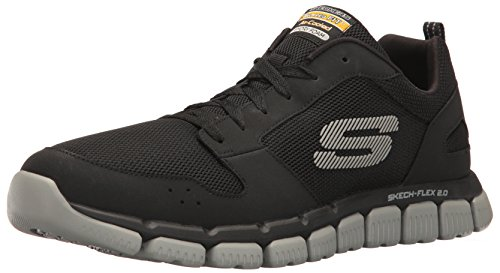 sneakernews cheap price brand new unisex Skechers Sport Men's Flex 2.0 Oxford Black/Gray Iw7LwHXUEH