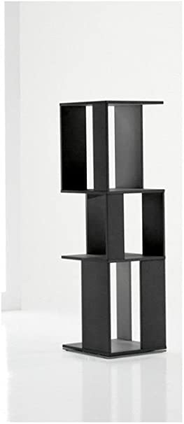 LAquila Design Arredamenti Bonaldo Estantería Cubic 3 Negro ...