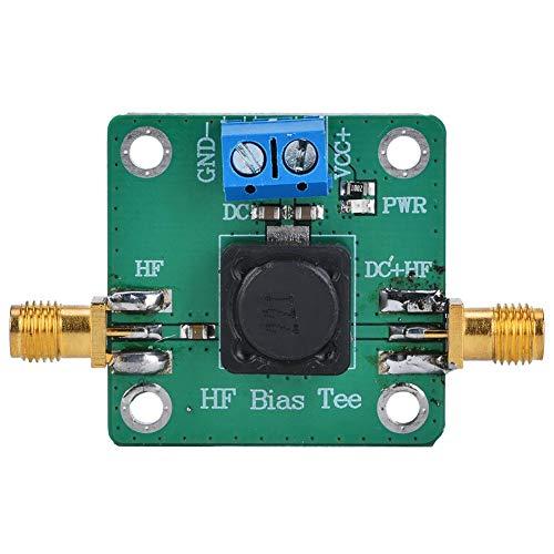 FTVOGUE RF Microondas HF Bias Tee DC Bias 50K-60MHz Fuente de alimentación de antena activa