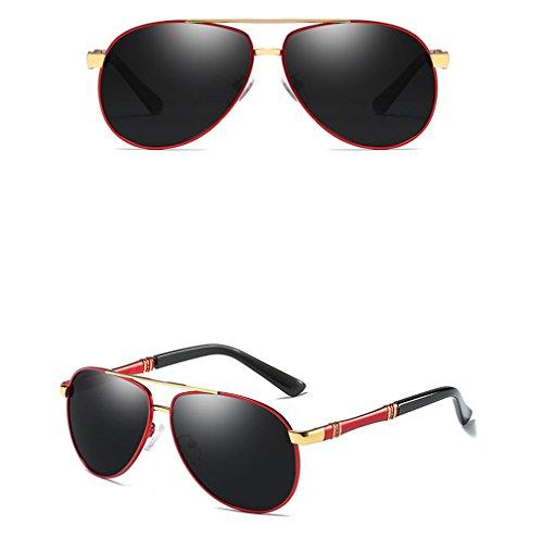 5 Adulte Lunettes Soleil 3 Hommes Sunglasses Metal De Vintage Générique pour Lunettes Lunettes Fashion De Soleil ZFPqxSHw