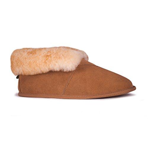 Fuzzies Sole RJ's Chestnut Bootie Soft Men's Slipper xZz41aqPw