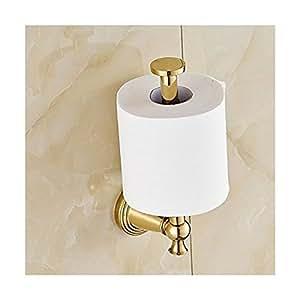 aquafaucet vertical toilet tissue paper holder wall mount tissue bracket gold polished. Black Bedroom Furniture Sets. Home Design Ideas