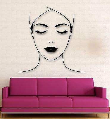 Wall Sticker Vinyl Decal Spa Salon Massage Makeup Health Decor VS1932