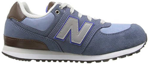 New Balance Unisex-Kinder Kl574esg M Sneakers Grau