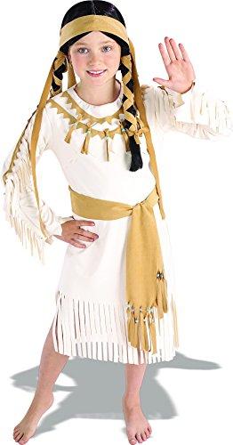 (Rubie's Costume Co Big Girls' Native American Girl Costume Small)