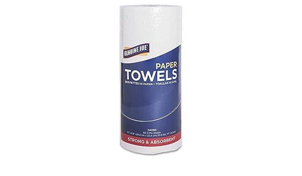 Amazon.com : Genuine Joe GJO24080 2-Ply Household Roll Paper Towels (Bundle of 30 Rolls) (2 Bundles) : Sports & Outdoors