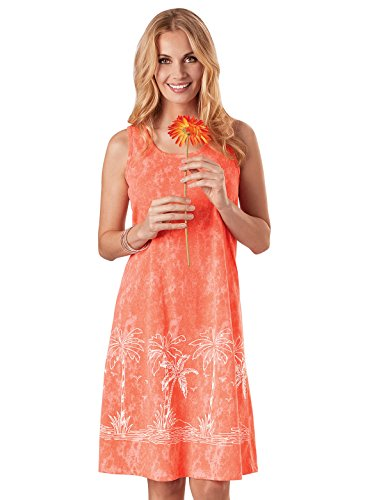 (Tank Dresses Casual Tank Top Dresses for Women, Color Orange, Size Medium, Orange, Size Medium)