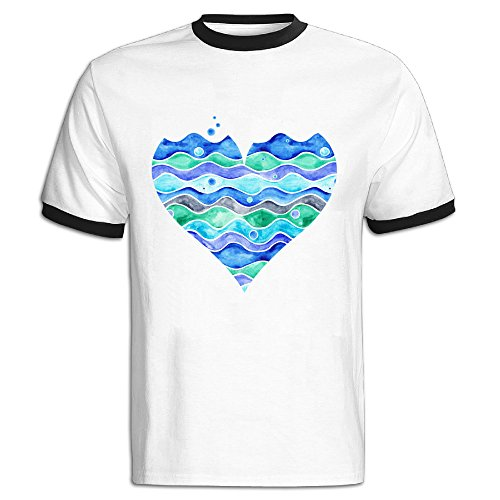 Sea Urchin Eggs (Color-blocking Funny T Shirts Sea Of Love Tshirts For)