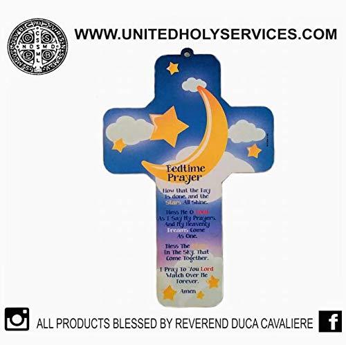- Lumen Mundi Wall Cross Bedtime Prayer