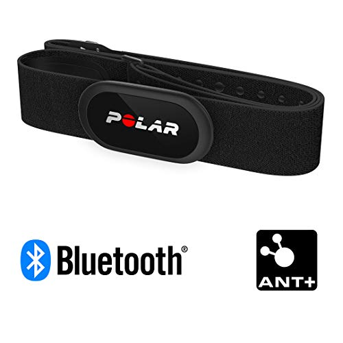 Polar H10 Heart Rate Monitor for Men and Women – ANT +, Bluetooth, ECG/EKG - Waterproof HR Sensor with Chest Strap by Polar (Image #1)