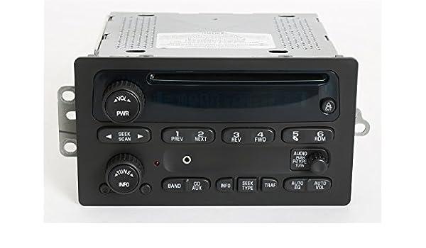 Amazon 1 Factory Radio Am Fm Cd Player W Aux Input Rhamazon: Gm Delco Radio Cd Usb At Gmaili.net