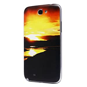 Highsound Sunset Battery Back Door Cover Case for Samsung N7100 Galaxy Note 2
