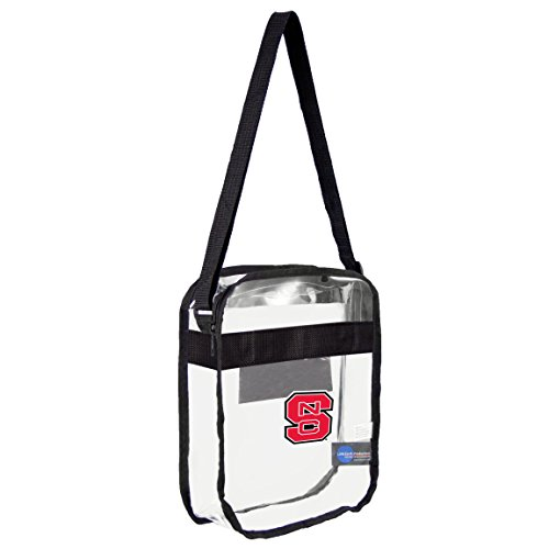 (NCAA NC State Wolfpack Clear Carryall Crossbody)