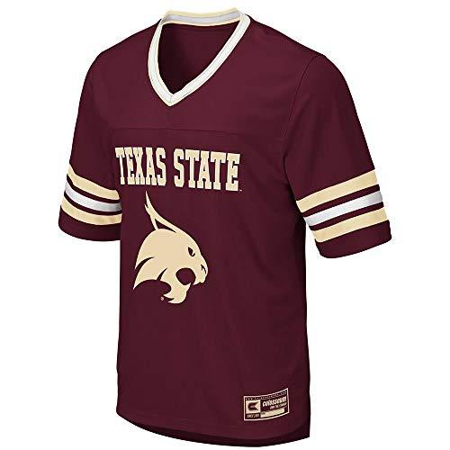 (Colosseum Mens Texas State Bobcats Football Jersey - M )