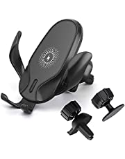 Fast Wireless Car Charger Mount,Gravity Sensing 15W Wireless Charger Car Phone Holder Air Vent Mount for iPhone 11/11 Pro Max/XR/XS Max/X/8, Samsung S20/S10/S9/Note 10 and All Qi-Enabled Phones