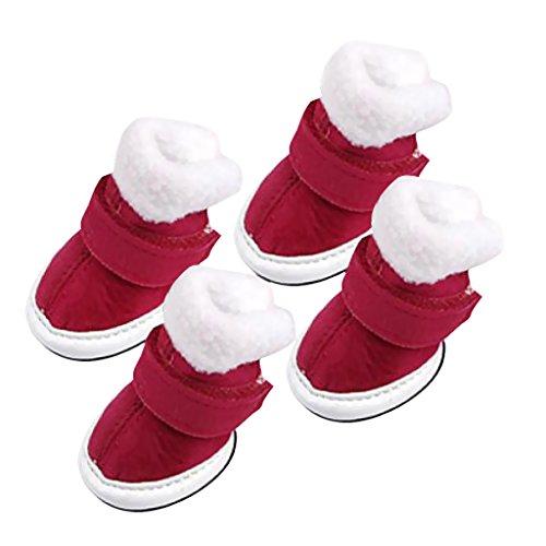 bottes-de-chien-confortables-et-chaudes-chaussures-vetements-pour-chien-1-rouge