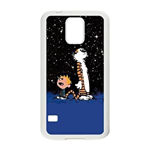 Happy Calvin and tigger Cell Phone Case for Samsung Galaxy S5