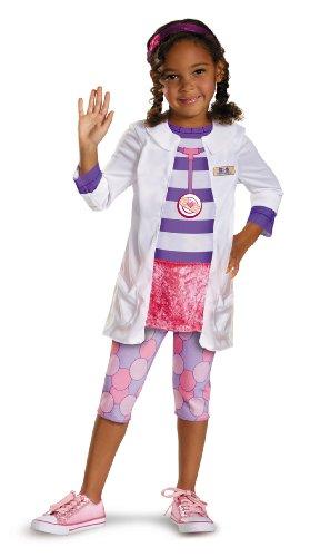 Disney Doc McStuffins Doc Classic Girls Costume, Medium/7-8 -