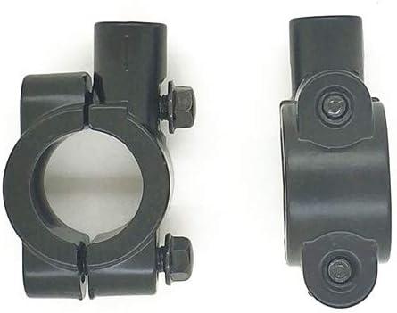 8mm Motorcycle 1Pair Handle Bar Mirror Mount Holder Clamp Adaptor 8mm 10mm Thread