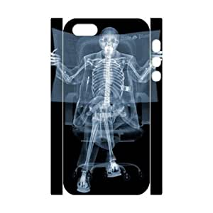custom iphone5,iphone5s 3D case, cool x ray skull bone 3D hard back case for iphone5,iphone5s at Jipic (style 3)