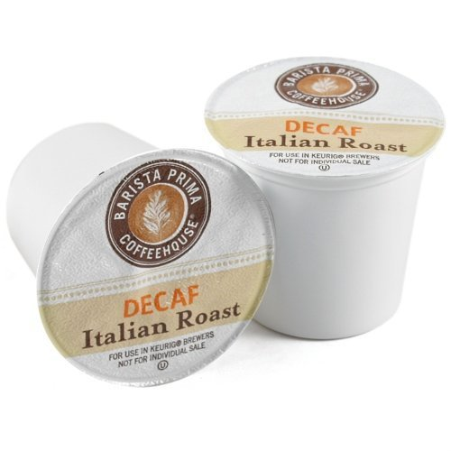 Barista Prima Decaf Italian Roast (2 Boxes of 24 K-Cups) by Barista Prima (Image #1)