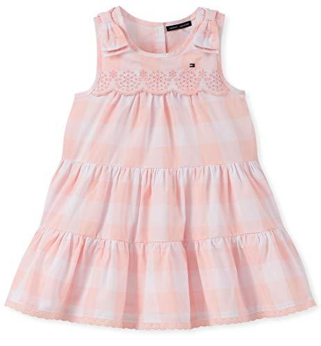 Tommy Hilfiger Girls' Toddler Dress, Blue Stripes 2T (Tommy Hilfiger Girl Kids)