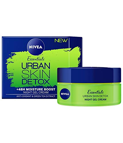 کرم ژل شبانه Nivea Essentials Urban Skin Detox Detox 50 ml / 1.7 oz