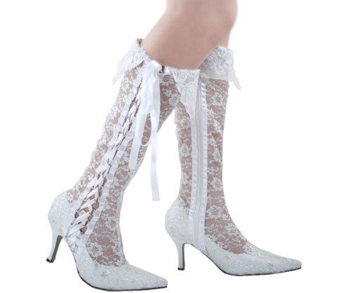 Kevin Fashion , Chaussures de mariage tendance femme - Blanc - blanc, 43