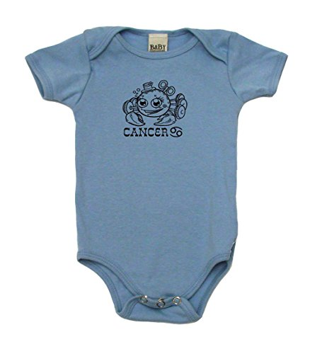 Cancer Baby Astrology Sign Baby Bodysuit, 12-18 mo, Baby ()