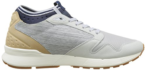 Le Coq Sportif Men's Omicron Craft Bass Trainers, Grey Grey (Galet)
