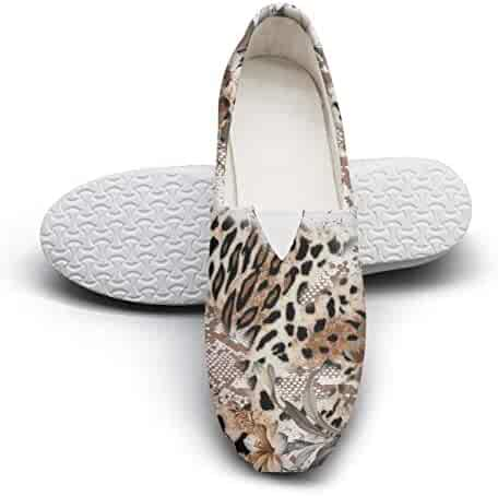 d9f4badf503 Leopard Design Pattern Womens Leisure Shoes for Womens Customize  Wear-Resistant