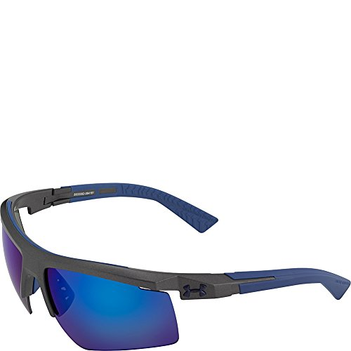 Under Armour Eyewear Core 2.0 Sunglasses (Satin Carbon/Gray Blue - Sunglasses Carbon Elements