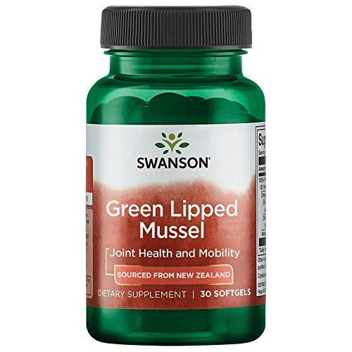 Swanson New Zealand Green Lipped Mussel Oil 30