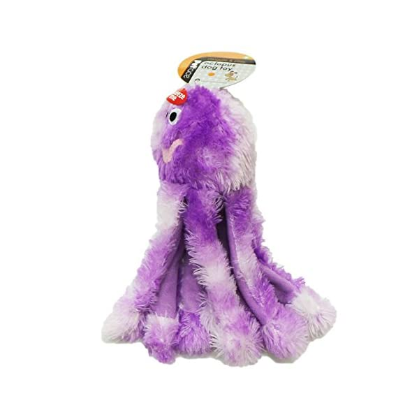 Petface Dog Toy, Small, Octopus 3