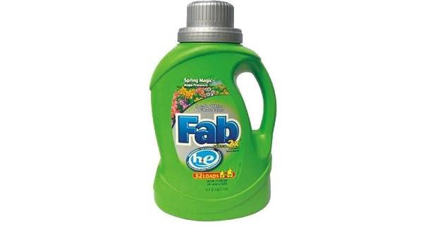 Phoenix marcas primavera Magic Fab 2 x He líquido detergente: Amazon.es: Hogar