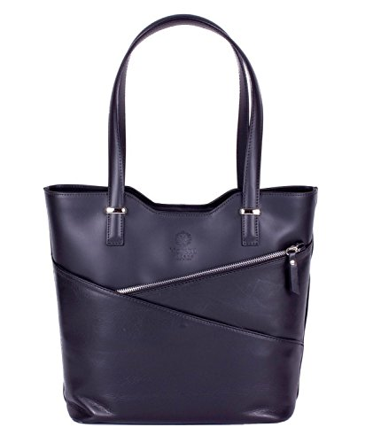 Handbag Padua Leather Black Fashion Women For Oa8Awa