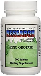 Advanced Research - orotato de Zinc 9,5 mg. - 200 tabletas