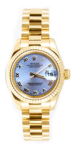 Rolex Ladys President New Style Heavy Band 18k Yellow Gold