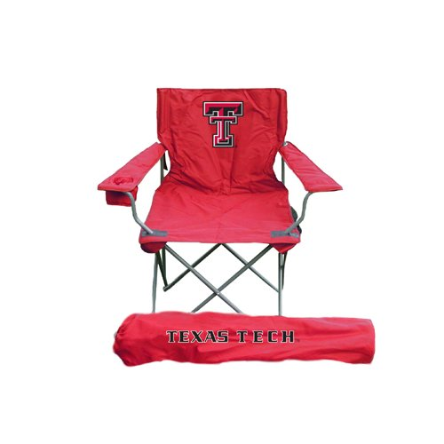 (Rivalry Distributing Texas Tech Red Raiders NCCA Ultimate Adult Tailgate Chair RIV-RV400-1000)