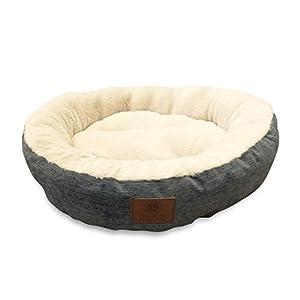 "American Kennel Club AKC3615GRAY Mason 22"" Round Pet Bed"
