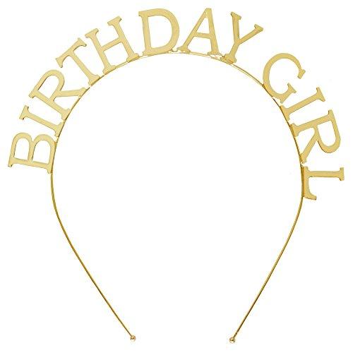 Headband Tiara Letters Birthday Girl product image