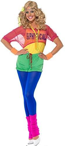 DISBACANAL Disfraz años 80 Deportista Mujer - -, M: Amazon.es ...