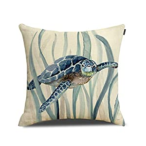 41AbedkoR6L._SS300_ 100+ Coastal Throw Pillows & Beach Throw Pillows
