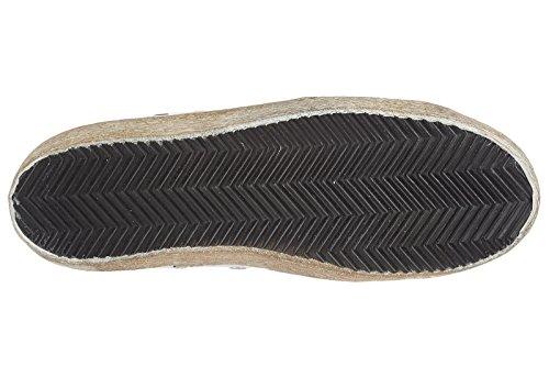 Zapatillas Altas Golden Goose Para Mujer En Piel Blanca De Francy
